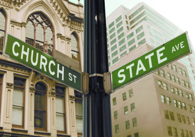 Christmas removes the Church & State Division