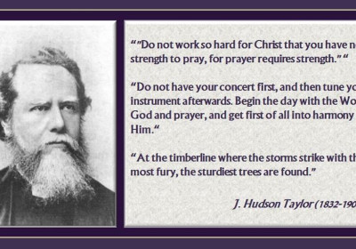 8 Top Hudson Taylor Quotes