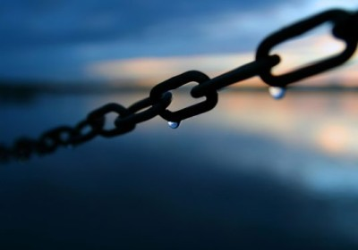 Blessed are the chain's smallest links#