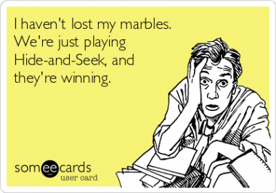 How To Really Lose Your Marbles#