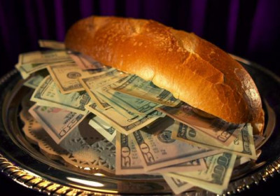 Making a Money Sandwich