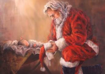 When Santa met Jesus