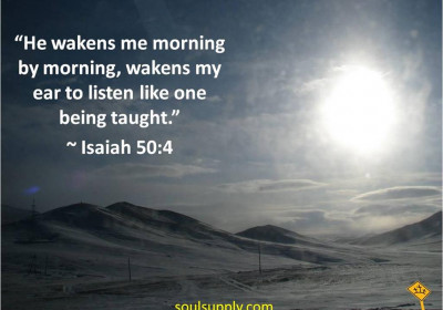 5 Dawn Prayers ~ Day 2 - FETCHING